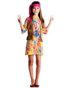 Fantasia Hippie Feminino Infantil