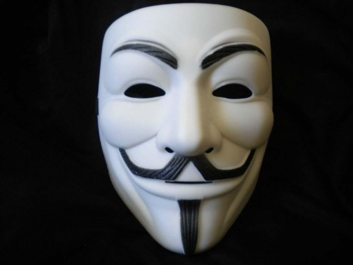 mascara v de vigança isofestas fantasias e artigos para festas em