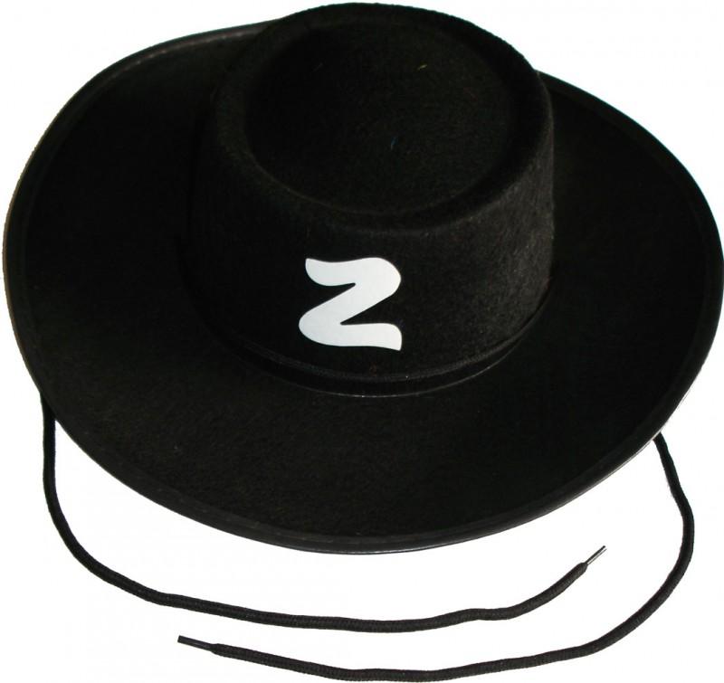 758940cc52631 Chapeu Zorro Adulto