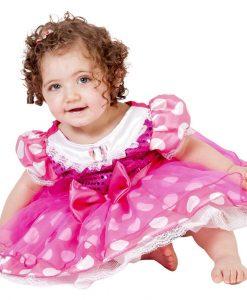 Fantasia Minnie Pink Baby – Rubies Tamanho Unico