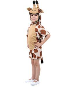 Fantasia Infantil Girafa Curto