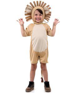 Fantasia Infantil Leão Curto