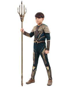Fantasia Aquaman Infantil Luxo – Liga da Justiça