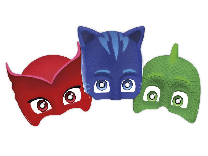 Máscara PJ Masks – 06 Unidades