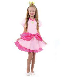 Fantasia Princesa Peach Infantil – Super Mario