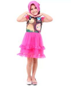 Fantasia Masha Infantil Faces Luxo Masha e o Urso