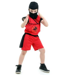 Fantasia Ninja Curto Infantil Pop