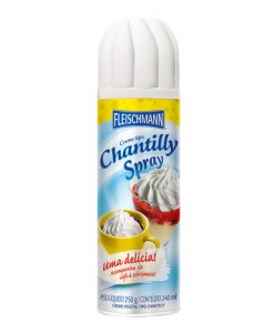 Creme Vegetal Spray Tipo Chantilly 250 ml - Fleischmann