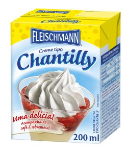 Creme Vegetal Tipo Chantilly Fleischmann 200ml