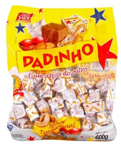Bala Dadinho 600g - Dadinho