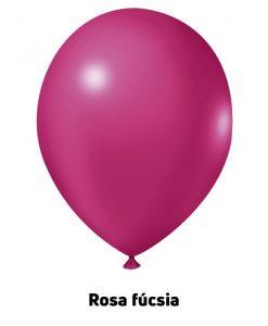 Balão Joy Redondo n°5 Fucsia