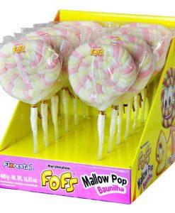 Marshmallow Fofs • Mallow Pop Baunilha • 480g • Florestal