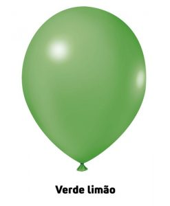 Balão Joy Redondo n°5 Verde Limão